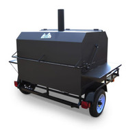 Big Pig Trailer Rig - Catering, Competition BBQ
