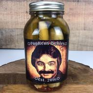 Diablo Dill 1 Quart Jar - PopKens Pickles