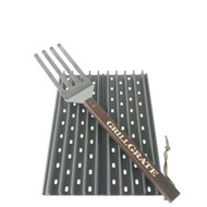 """16.25"""" GrillGrate Pellet Grill Sear Station (10.5"""" WIDE)"""