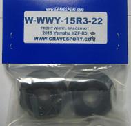 Graves Motorsports R3 WORKS Captive Front Wheel Spacer Kit