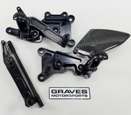 Graves Motorsports Yamaha R6 Adjustable Rearsets 2006-2019