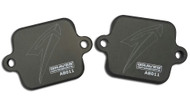 Graves Motorsports Smog Block Off Plates for Yamaha Sportbikes