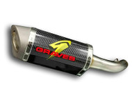 Graves Motorsports Yamaha R3 Cat-Back Slip-on Exhaust