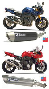 Graves Motorsports Yamaha FZ1 Cat Eliminator Slip-On Exhaust System 2006-2014