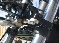 Graves Motorsports Yamaha R3 Steering Damper Mount