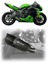 Graves Motorsports ZX6R / ZX636 Slip-on Exhaust