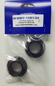 Graves Motorsports R1 R6 WORKS Captive Front Wheel Spacer Kit
