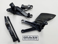 Graves Motorsports Yamaha R6 Fixed Rearsets 2006-2019