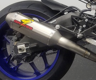 Graves Motorsports Yamaha R1 Full Titanium Exhaust System with Titanium 265mm Silencer