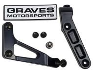 Graves Motorsports Yamaha R6 WORKS Steering Damper Mount 17-19