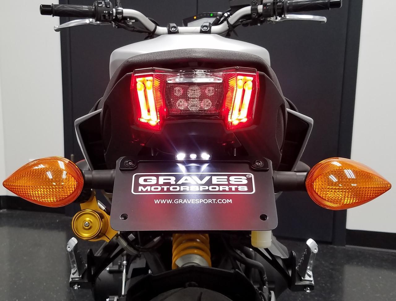 Graves Motorsports Yamaha XSR900 FZ09 MT-09 FJ09 Full Titanium Exhaust