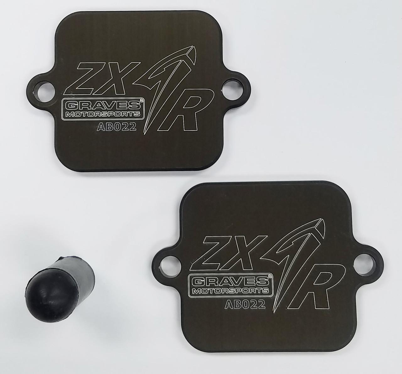 Graves Motorsports Kawasaki ZX-6R Full LINK Titanium / Carbon WORKS Exhaust