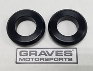 Graves Motorsports WORKS Kawasaki ZX-10R Front Wheel Captive Spacers Kit