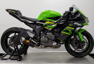 Graves Motorsports Kawasaki ZX-6R Full LINK Titanium / Carbon WORKS Exhaust