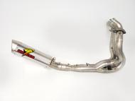 Graves Motorsports Kawasaki ZX-6R Full LINK Titanium / Titanium WORKS Exhaust