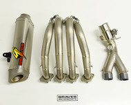 Yamaha R6 Full Titanium WORKS 8 EVR Type-R Full Exhaust