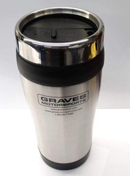 Graves Motorsports Travel Tumbler