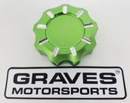 Kawasaki Teryx KRX 1000 Billet Machined Gap Cap - Green