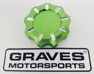 Kawasaki Teryx KRX 1000 Billet Machined Gap Cap - Green