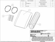 Graves Motorsports Exhaust Silencer Repack Kit - Octagon