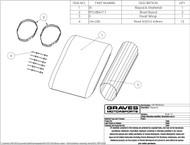 Graves Motorsports Exhaust Silencer Repack Kit - Octagon
