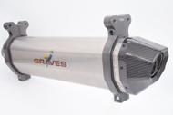 Graves Motorsports Honda Talon Slip-on Exhaust