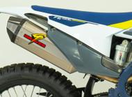 KTM - Husqvarna  Multi Fitment DualSport Titanium Exhaust