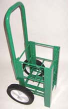 """Heavy Duty Oxygen Cylinder Cart For Four D or E (4.38"""" DIA) Style Oxygen Cylinders (1060HD)"""