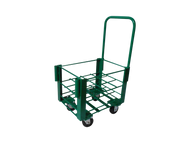 "Heavy Duty Oxygen Cylinder Cart For 12 D or E (4.38"" DIA) Style Oxygen Cylinders (1075HD)"