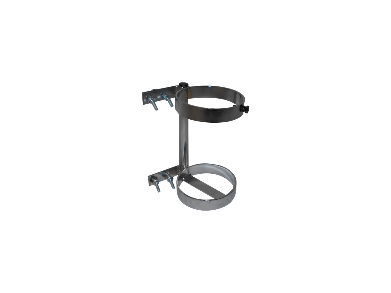 Universal Walker Mountable Oxygen Cylinder Rack for One D or E (4 38