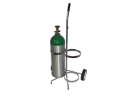 "Oxygen Cylinder Cart for Two M60/90 (7.25"" DIA) Oxygen Cylinders (1140-2)"