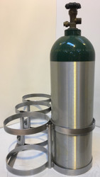 "Oxygen Cylinder Rack for Six M60 (7.25"" DIA) Oxygen Cylinders (1141-6)"