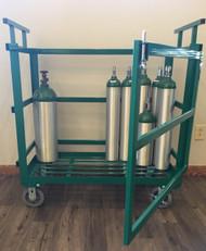 Heavy Duty Oxygen Cylinder Cart (1142-15HD)