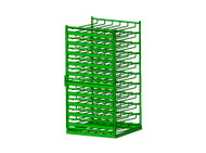 Layered Horizontal Rack for 24 M22 Cylinders (6591-24)