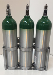 """Triple Capacity Ground Stand for D/ E (4.38"""" DIA) Cylinders (7503-3)"""