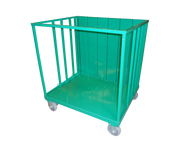 "Oxygen Cylinder Transport Cart for 72 E (4.38"" DIA) or 132 M6 (3.20"" DIA) Cylinders (9026)"
