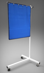 """Deluxe Mobile Lead Shield on T-Base (30"""" x 24"""")"""