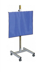 """Max Mobile Lead Shield with H-Base (48"""" x 48"""")"""