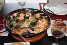 Spanish Paella Cooking Class Fri 01/03/19 at  6pm - approx 10.30pm
