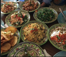 Middle Eastern feast on Spice Bazaar Brunswick Food Tour