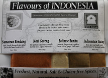 Flavours of Indonesia Spice Set (4 x 30g)