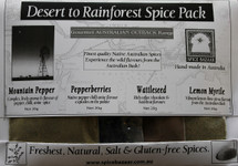 Native Australian Spice Set ( Pure) (4 x 20g)