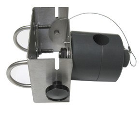 Swivel assembly side view