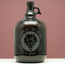 Engraved Mini Growler with your Own Custom Home Brew Logo or Design!
