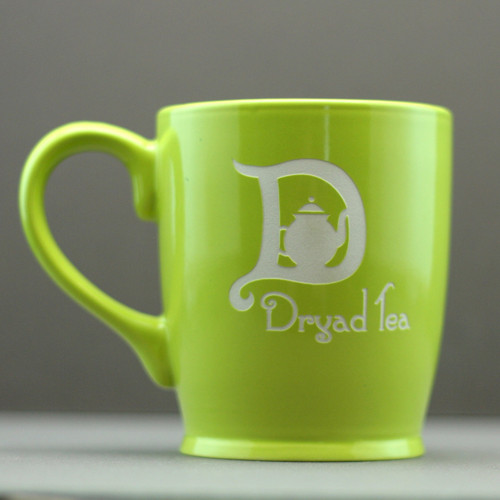 Engraved Logo Etched Coffee Mug - Marketing Gifts