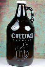 Put your logo on a Growler, custom made with your art.