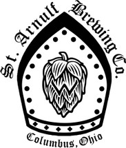Custom listing for Kaitlyn - 32oz mini growler and 2 pilsners with St. Arnulf art