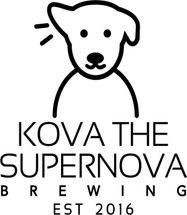 Custom listing for Becca - 64oz growler and 4 pints with Kova art