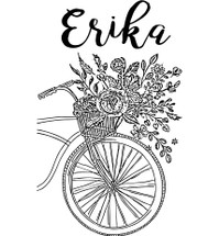 Custom listing for Erika - 12 12oz stainless steel stemless wine glasses with custom art and names
