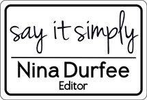 Custom listing for Nina - name tag
